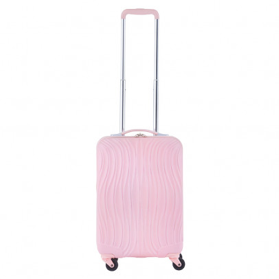 CarryOn Wave Trolley 55 Pastel Pink