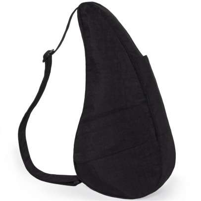 The Healthy Back Bag The Classic Collection Textured Nylon S Black
