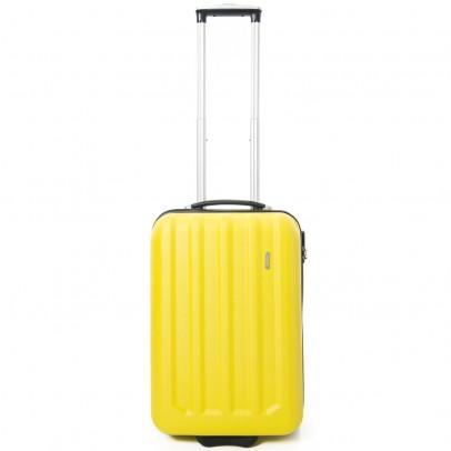 Line Fuse Handbagage 2 Wheel Trolley Yellow
