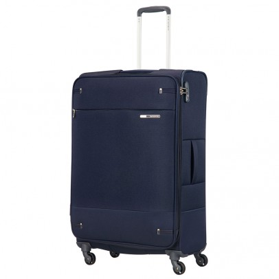 Samsonite Base Boost Spinner 78 Expandable Navy Blue