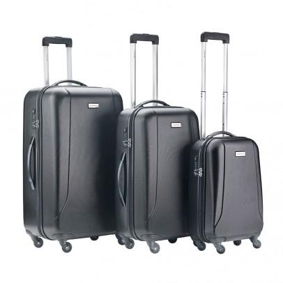CarryOn Skyhopper 3-Delige Kofferset Black