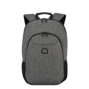 "Delsey Esplanade Laptop Backpack 2-CPT 13.3"" Anthracite"