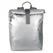 Bree Punch 713 Backpack M Shiny Silver