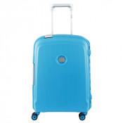 Delsey Belfort Plus Spinner Cabin Trolley Slim 55 Teal Bleu