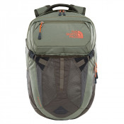 The North Face Recon Rugtas New Taupe Green/Four Leaf Clover