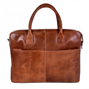 DSTRCT Fletcher Street Business Laptoptas 15.6'' Cognac 016320