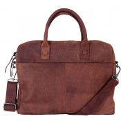 DSTRCT Wall Street Business Laptoptas 15.4'' Brown