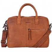 DSTRCT Wall Street Business Laptoptas 15.4'' Double Cognac