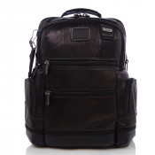Tumi Alpha Bravo Knox Leather Rugzak Black