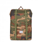 Herschel Retreat Youth Rugzak Woodland Camo/ Army Rubber