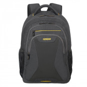 """American Tourister AT Work Laptop Backpack 15.6"""" Coated Shadow Grey"""