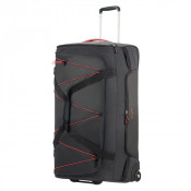 American Tourister Road Quest Duffle Wheels 79 Graphite/ Pink