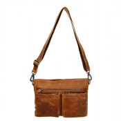 MicMacbags Colorado Schoudertas Cognac 16183