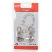 Line Travel Accessories TSA Sleutelslot (2) Silver