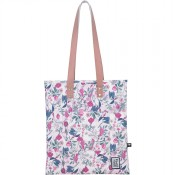 The Pack Society The Shopper Schoudertas Pink Botanical Allover