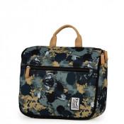 The Pack Society Toiletry Bag/ Toilettas Green Camo Allover