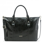 Claudio Ferrici Pelle Vecchia Business Bag Black