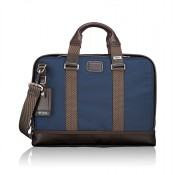 Tumi Alpha Bravo Andrews Slim Brief Navy 2