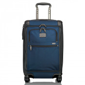 Tumi Alpha 2 Travel International Front Lid 4-Wheel Carry-On Navy/Black