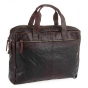 Spikes & Sparrow Bronco Business Bag Dark Brown 24484