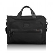 Tumi Alpha 2 Business Slim Deluxe Portfolio Black