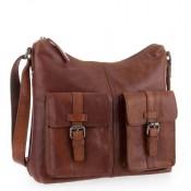 Spikes & Sparrow Bronco Zip Bag Brandy 292E131