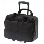 Davidt's Leyden Multifunction Bag + Wheels Brown