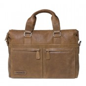 "Plevier Business/ Laptoptas Crunch 1-Vaks 14"" Cognac 471"