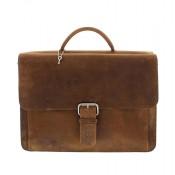 Plevier Business/ Laptoptas Vintage 2-Vaks Brown 549