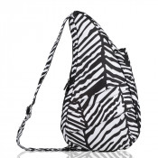 The Healthy Back Bag The Classic Collection Textured Nylon S Zebra