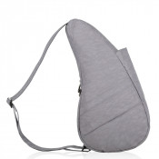 The Healthy Back Bag The Classic Collection Textured Nylon S Grey