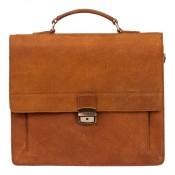 Burkely Vintage Scott Briefcase 2 Cognac 637822