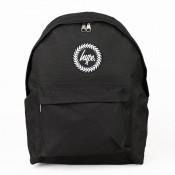 Hype Badge Rugzak Black