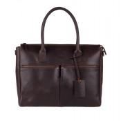 Burkely Vintage Valerie Laptop Bag Brown 698822