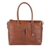 Burkely Vintage Valerie Laptop Bag Cognac 698822