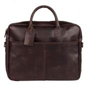 Burkely Vintage Max Worker Schoudertas Dark Brown 733922
