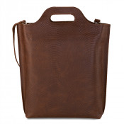 Myomy My Carry Bag Shopper Anaconda Brandy
