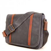 Barbarossa Ruvido Courier Bag Schoudertas Navy