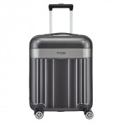 Titan Spotlight Flash 4 Wheel Cabin Trolley S Anthracite