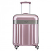 Titan Spotlight Flash 4 Wheel Cabin Trolley S Wild Rose