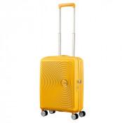 American Tourister Soundbox Spinner 55 Exp. Golden Yellow