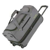 Travelite Basics Wheeled Duffle 55cm Expandable Grey/Green