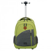 Travelite Basics Trolley Backpack Melange Green