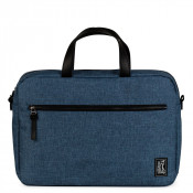 The Pack Society The Reporter Schoudertas Light Blue Duo Tone