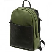 "Davidt's Berkeley Back Bag 15"" Olive"