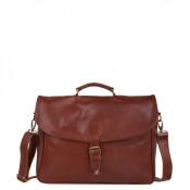 """Cowboysbag Bag Miami 1963 15.6"""" Cognac"""