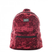HXTN Supply One Mini Rugzak Crushed Velvet Berry