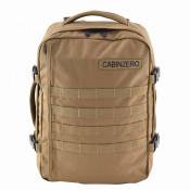 CabinZero Military 28L Lightweight Adventure Bag Desert Sand
