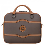 Delsey Chatelet Air 48H Tote Travel Bag Chocolate