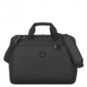 "Delsey Esplanade Laptop Bag 2-CPT 15.6"" Deep Black"